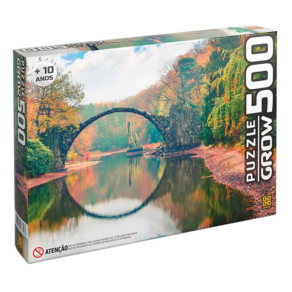 Puzzle 500 peças Ponte Espelhada - Grow