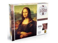 Quebra-Cabeça - 1000 peças - Monalisa