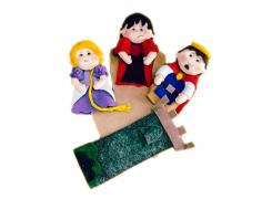 Rapunzel - Dedoche - Grillo Brinquedos
