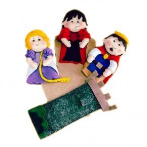 Rapunzel - Dedoche - Grillo Brinquedo