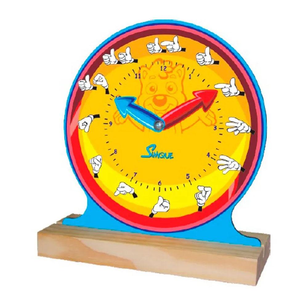 Relógio Com Libras - Simque