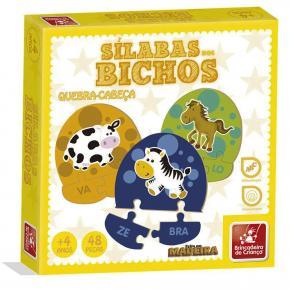 Sílabas dos Bichos - Brincadeira de Criança