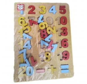 Tabuleiro de Números - Top Toy