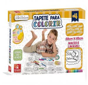 Tapete Para Colorir AlfaBichos - Brincadeira de Criança