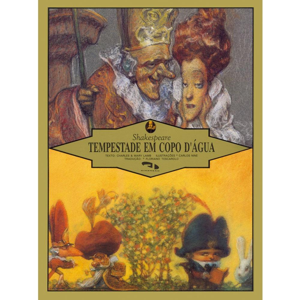 Tempestade em Copo D'água (Shakespeare) - Dimensão Editora - Livro