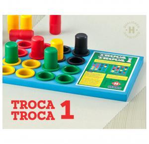 Troca Troca 1 - Desafios Progressivos - Hergg - Cores