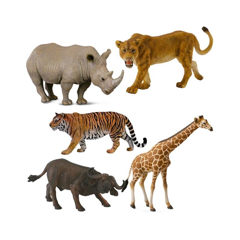 Animais Selvagens Sortidos - Collecta - Banho