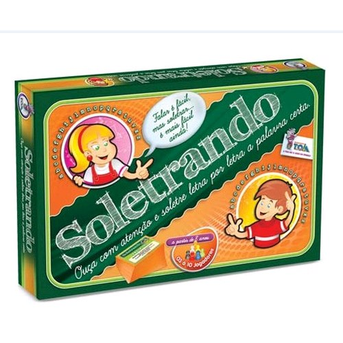Jogo Soletrando - Toia - Português