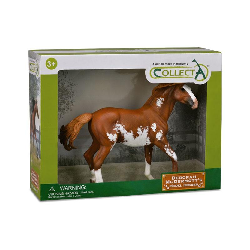Cavalo Mustang Castanho - Collecta - Animais