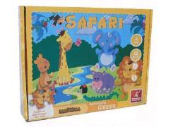 Quebra-Cabeça Gigante Safari - Brincadeira de Criança