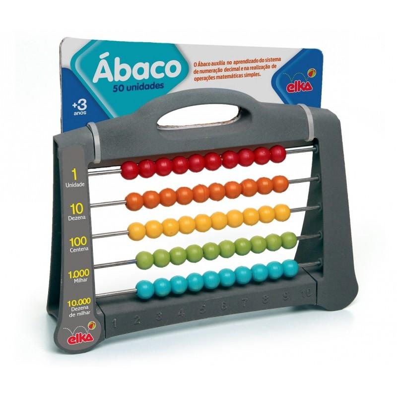 Ábaco 50 - Elka - Matemática