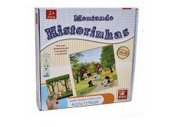 Quebra-Cabeça Montando Historinhas - Brincadeira de Criança