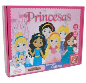 Quebra-Cabeça Princesa Baby - Brincadeira de Criança