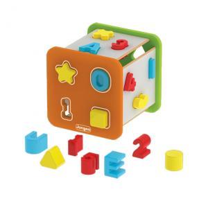 Super Cubo Didático - Formas, Letras E Números - Junges