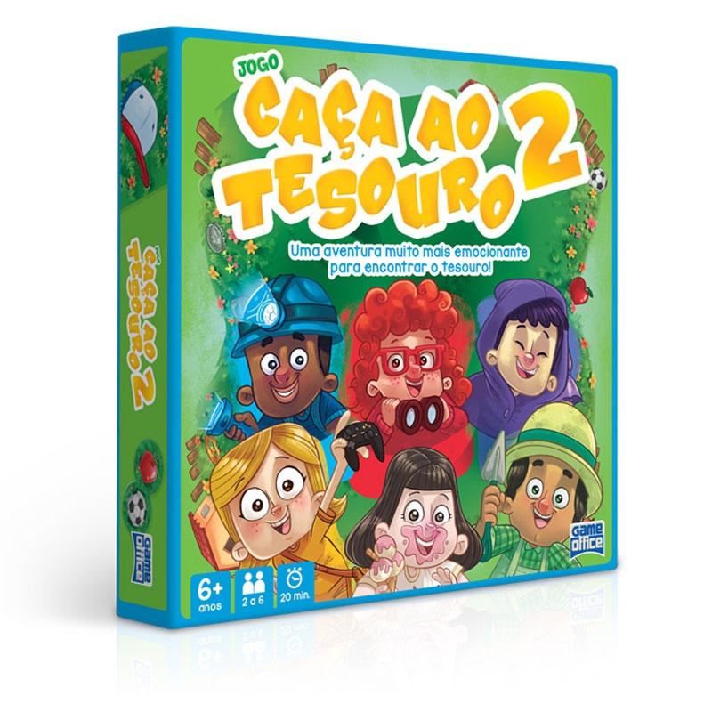 Jogo Caça ao Tesouro 2 - Toyster - Tabuleiro