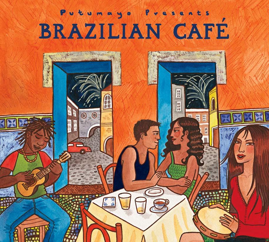 CD - Brazilian Café - Putumayo World Music