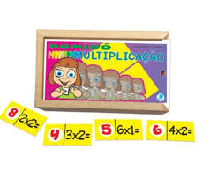 Dominó Multiplicação - Simque