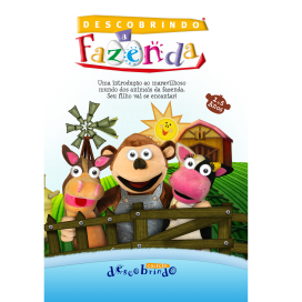 DVD - Descobrindo a Fazenda