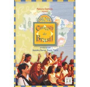 DVD - Show Canções do Brasil - Palavra Cantada