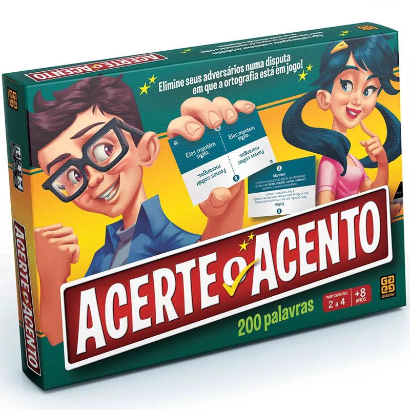 Jogo Acerte o Acento - Grow - Portugues