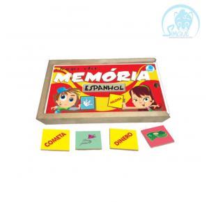 Jogo da Memória - Espanhol