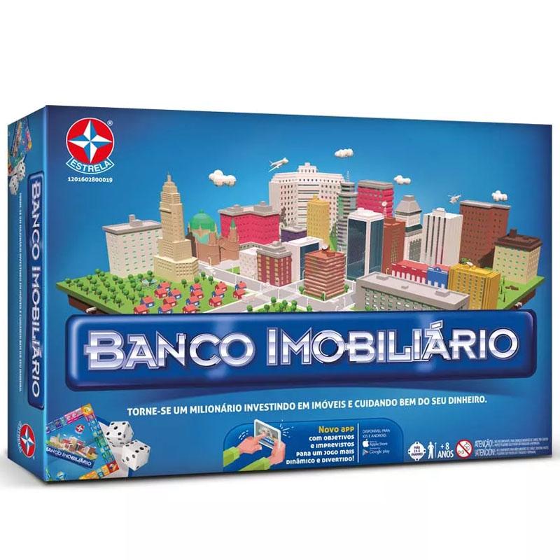 Jogo de Tabuleiro - Banco Imobiliário com Aplicativo