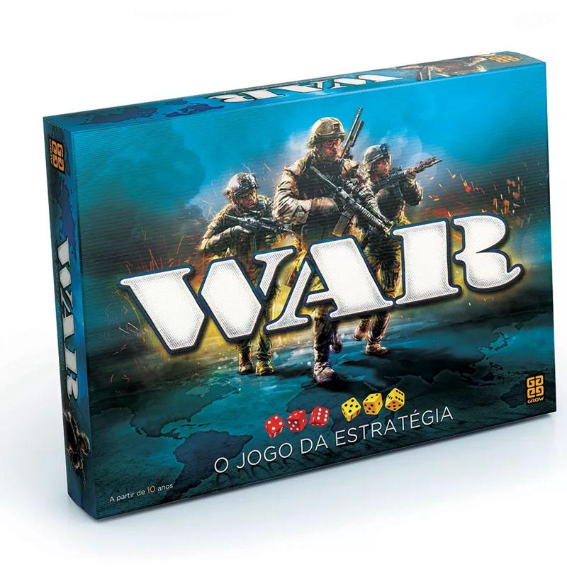 Jogo War - Grow - Tabuleiro