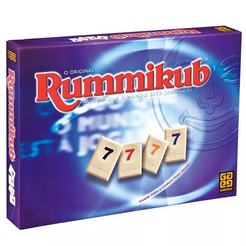 Jogo Rummikub - Grow -  Matemática