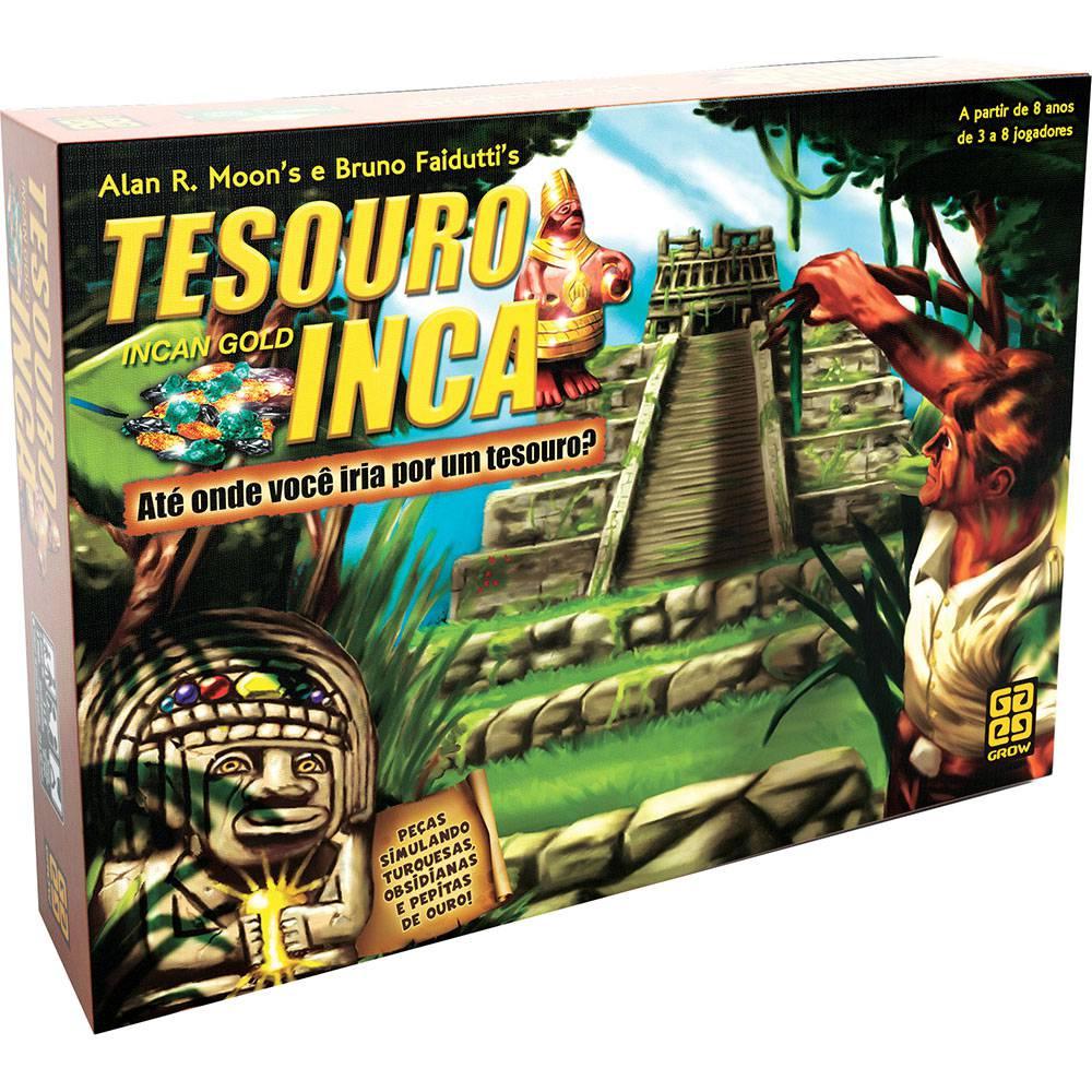 Jogo Tesouro Inca - Grow - Tabuleiro