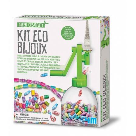 Artesanato - Bijuterias Ecológicas - Kit Eco Bijoux