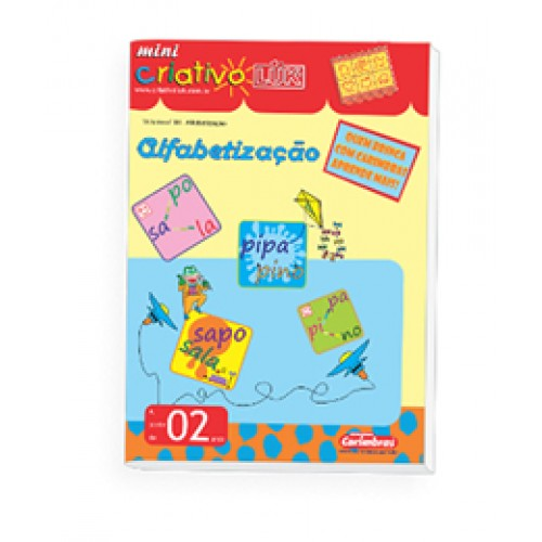 Livro Mini Criativo Luk - Volume 4 - Alfabetização - Carimbras
