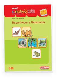Livro Mini Criativo Luk - Volume 5 - Reconhecer e Relacionar