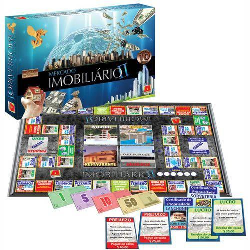 Jogo de Tabuleiro - Mercado Imobiliário II