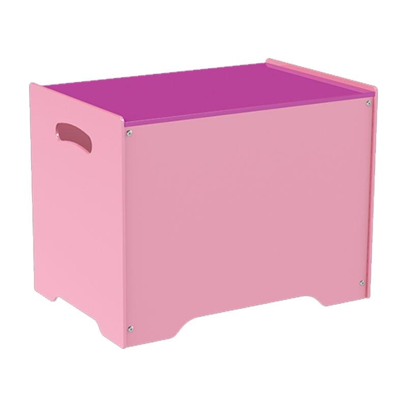 Baú Organizador Rosa - Junges - Mobilha