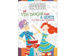 Palavra Cantada - Kit Vem Dançar Com A Gente - DVD + CD + Jogo de Memória