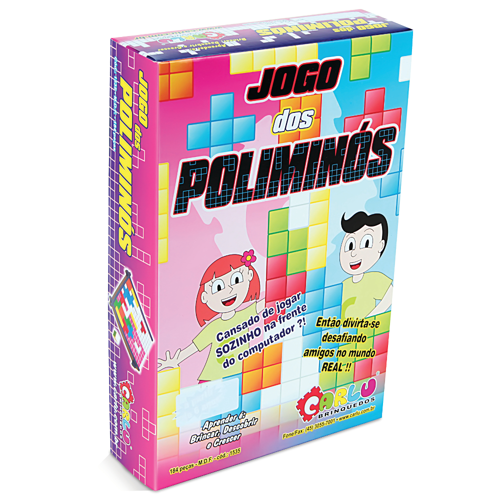 Tetris - Tradicional - Jogo dos Poliminós