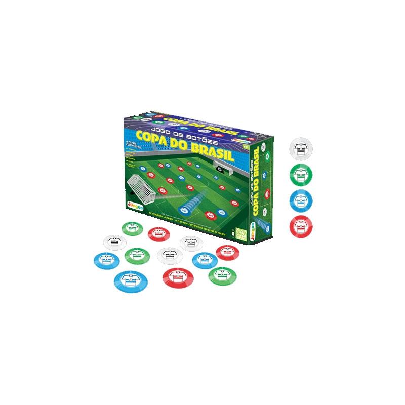 Jogo De Botão - Caixa Com 2 Times - Tradicional - Junges